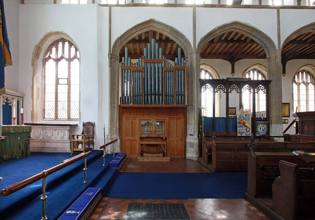 Holy Trinity, Loddon, Norfolk - Organ