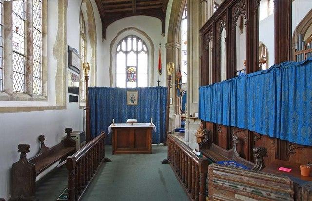 Holy Trinity, Loddon, Norfolk - North chapel