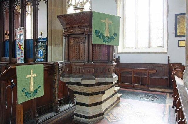 Holy Trinity, Loddon, Norfolk - Pulpit