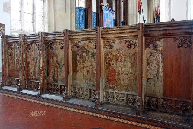 Holy Trinity, Loddon, Norfolk - Screen