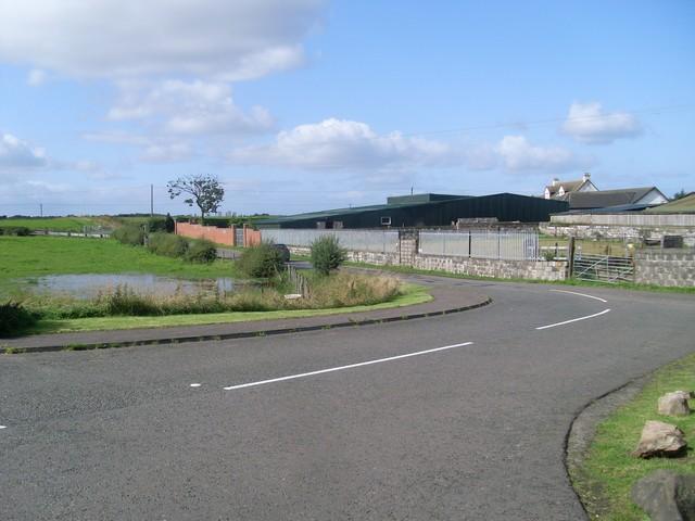 Farm buildings at Auchingree