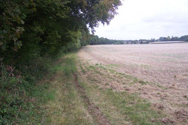 Footpath to Stile Farm