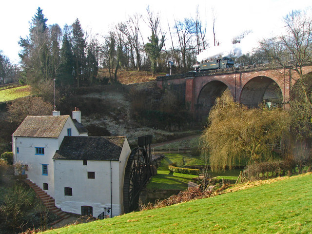 Daniel's Mill & Oldbury Viaduct