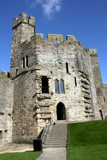 The North East Tower of Caernarfon Castle