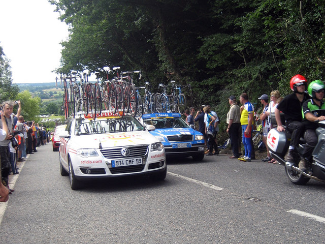 Tour De France 2007, High Street, Goudhurst
