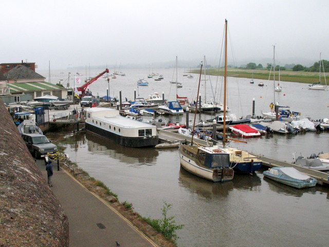 Topsham Harbour and the River Exe