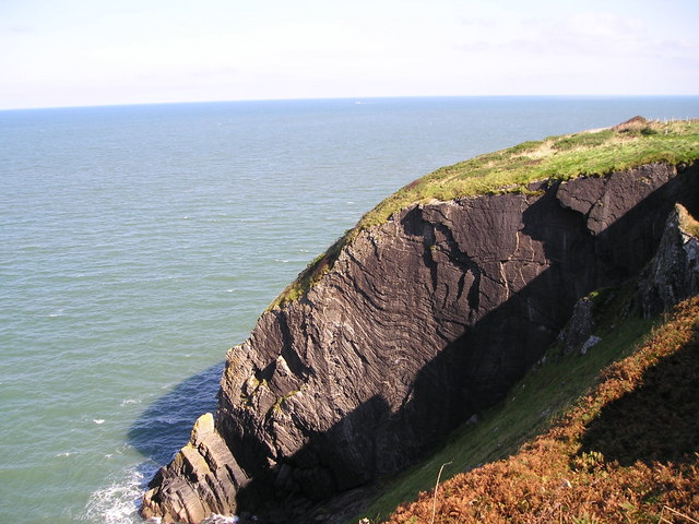 Cliffs at Hatling Bigni
