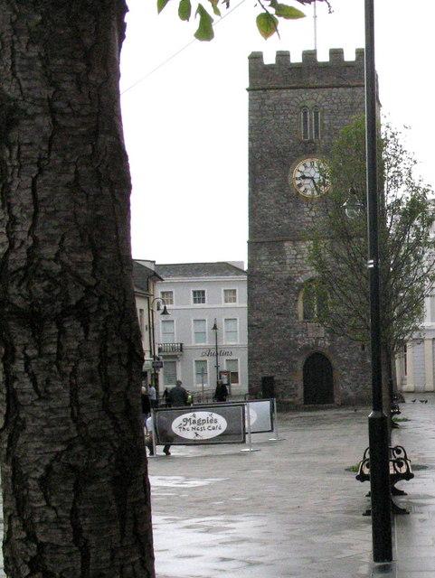 Newton Abbot, St Leonard's Church Tower