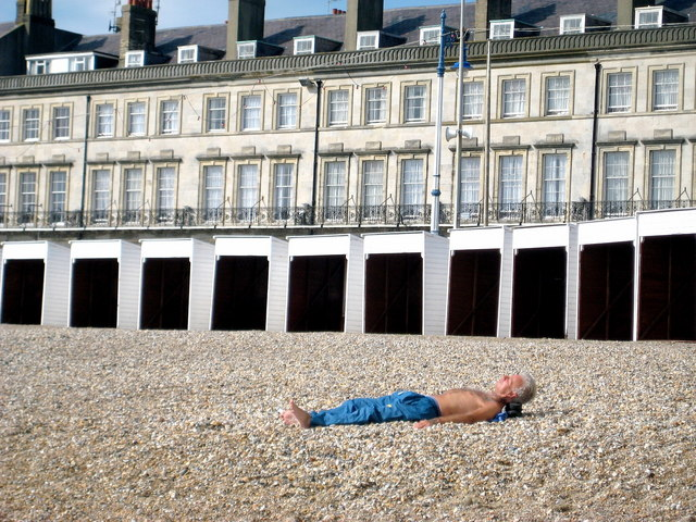 Last chance for a suntan - Weymouth