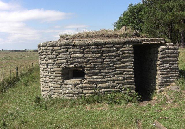 World War II pillbox
