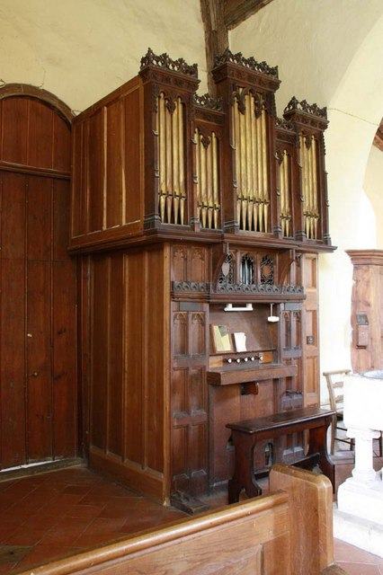 St Gregory's Church, Heckingham, Norfolk - Organ