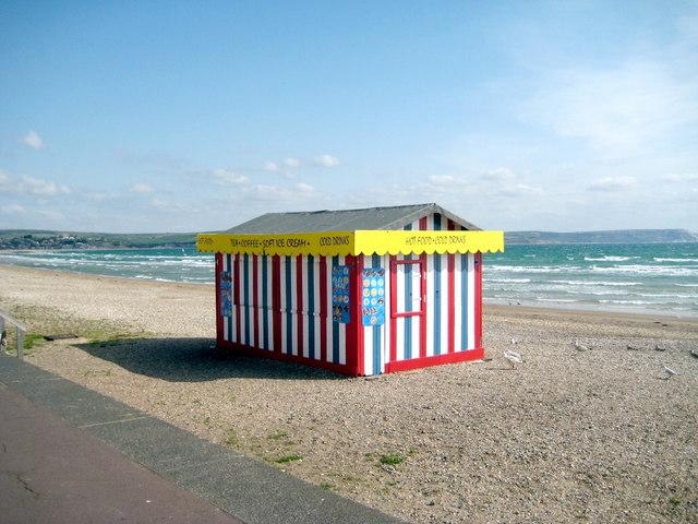 Shut up shop - Weymouth beach