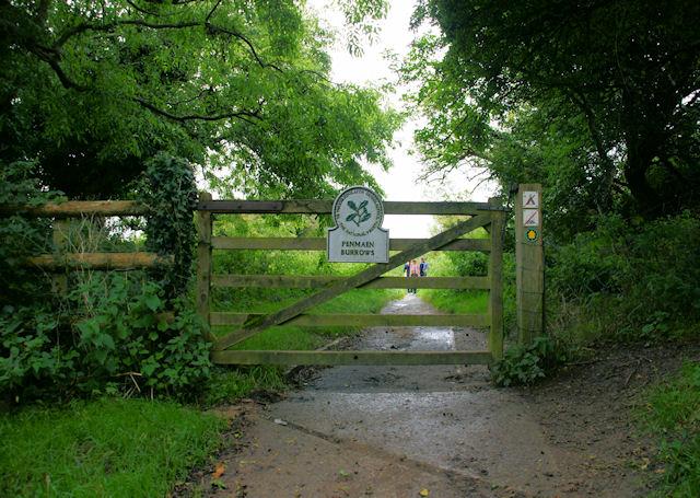 National Trust Entrance, Penmaen Burrows