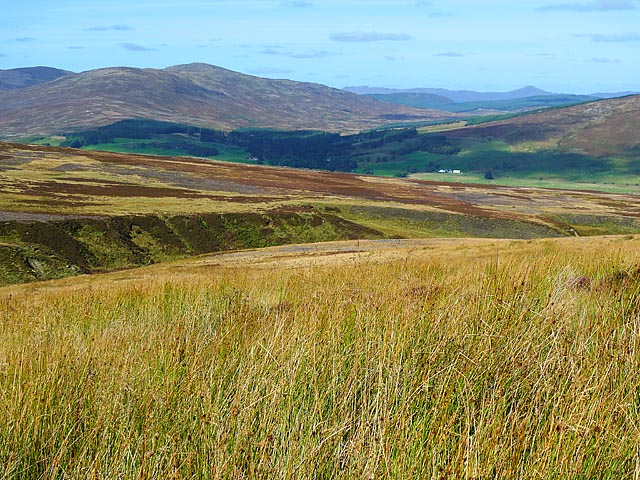 Moorland south of Dullator