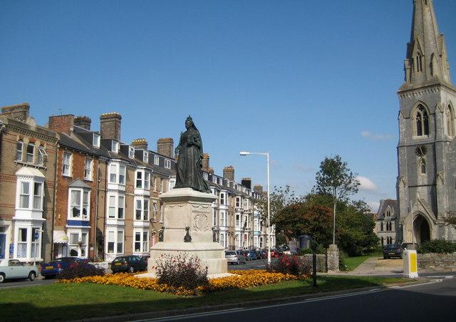 Queen Victoria statue - Weymouth