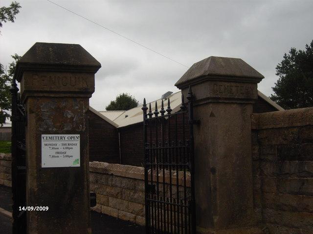 Kirkhill Cemetery (also called Penicuik cemetery)