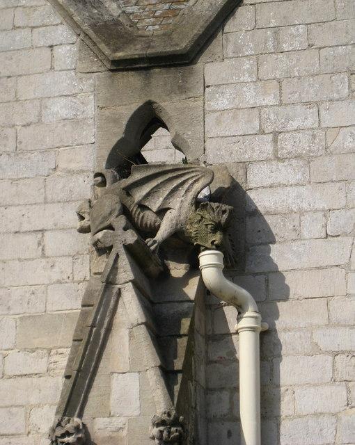 Gargoyle - St John's Church Weymouth