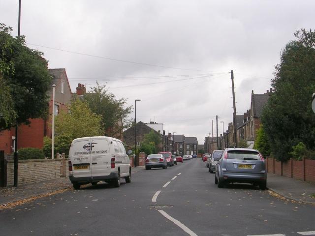 Worrall Street - Scatcherd Lane