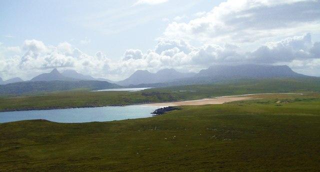 View towards Achnahaird Bay