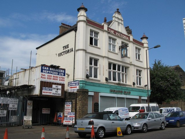 The Hoang Bar - formerly The Victoria, Grove Street, SE8