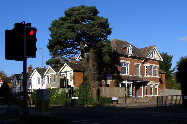 Junction of Winchester Road and St James Park Road