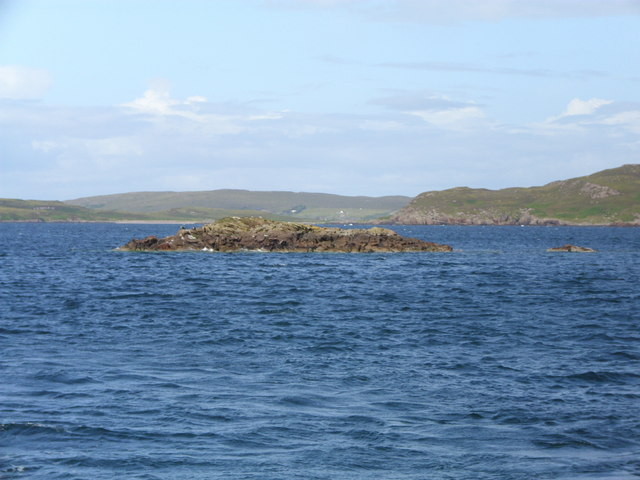 Skerry in Caolas a Mhill Ghairbh