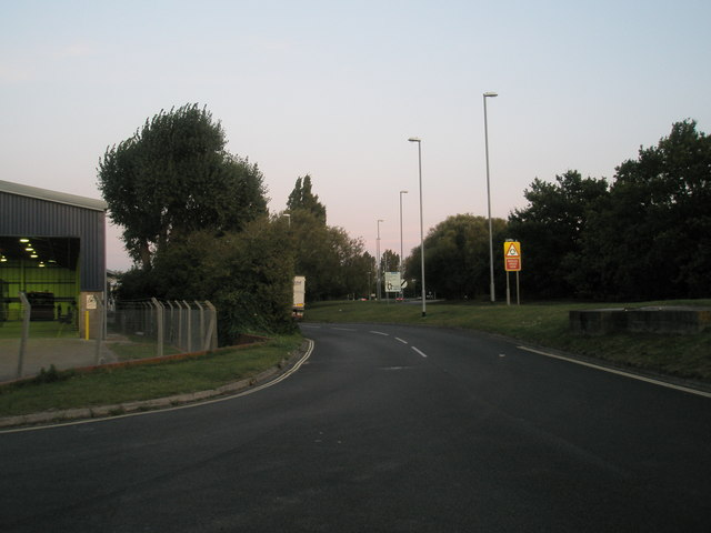 Looking eastwards in Northarbour Road