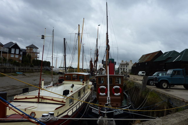 Boats at Standard Quay, Faversham Creek