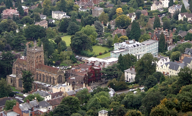 Great Malvern Priory Lands