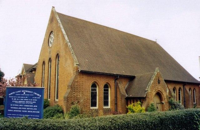 North Camp Methodist Church, Farnborough