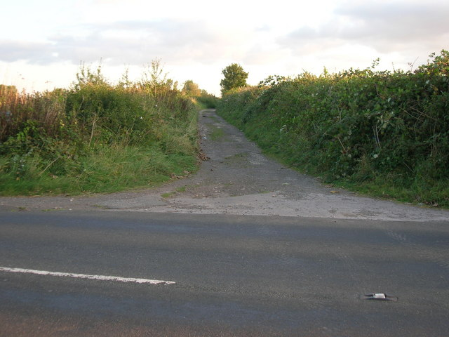 Northern end of Dapwell Lane