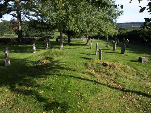 Cemetery, Tedburn St Mary