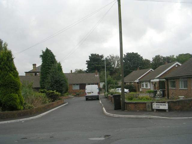 St Andrew's Close - St Andrew's Avenue