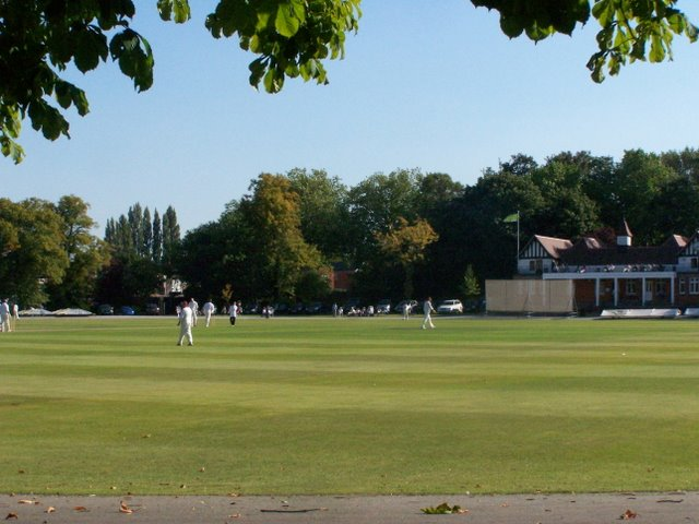 Cricket Match, Queen's Park - Chesterfield