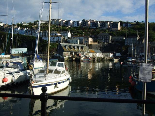 Harbour scene at Mevagissey 1
