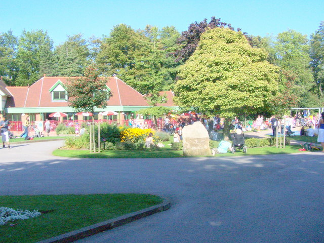 Cafe and Playground - Chesterfield