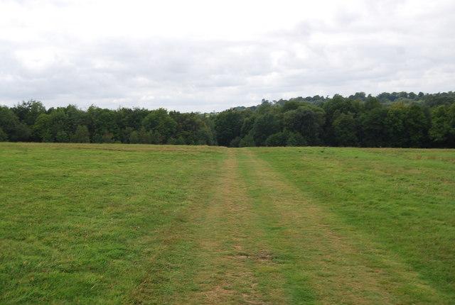 Tunbridge Wells Circular Path - heading towards Forge Wood