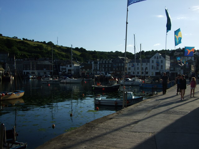 Harbour scene at Mevagissey 2