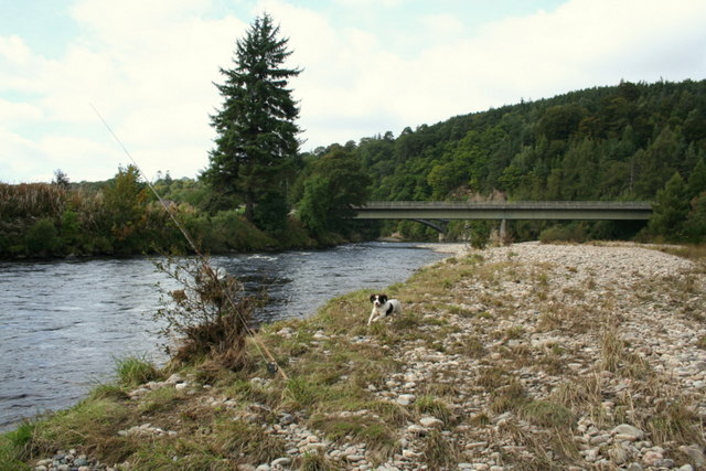 On the banks of the Spey by Craigellachie