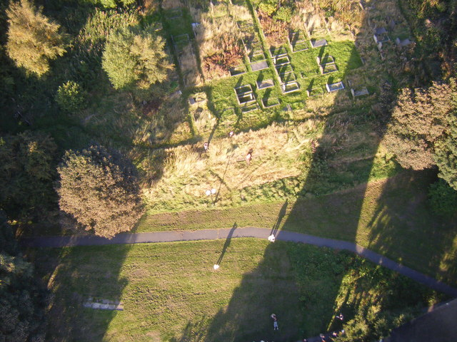 Lawn at the Base of Wainhouse Tower