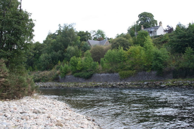 Smithy's pool on the Easter Elchies beat of the Spey