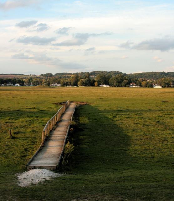 Occasional bridge, Cock Marsh