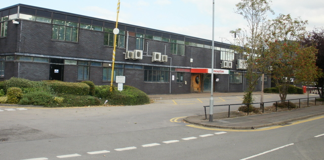 South Wales Argus offices from Bideford Road