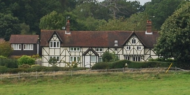 Half timbered house, Eridge Green
