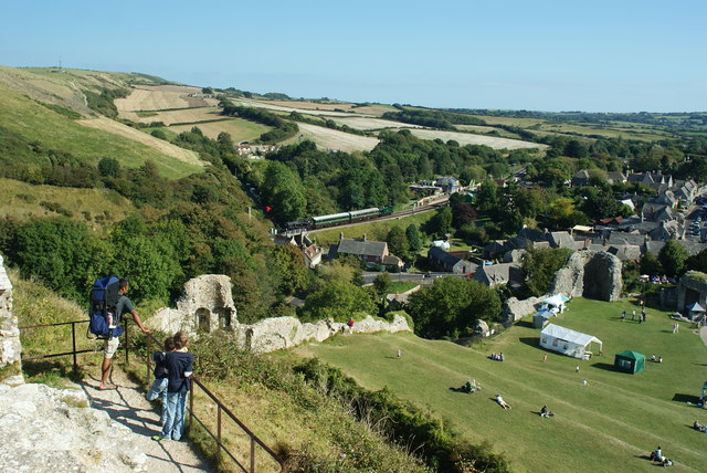 View From Corfe Castle, Dorset