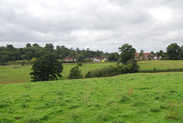Eridge Green across the fields