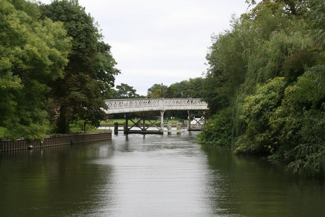 Toll bridge from the path
