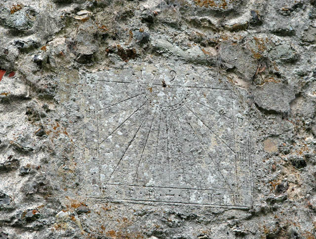 St Michael's church - 16th century sundial