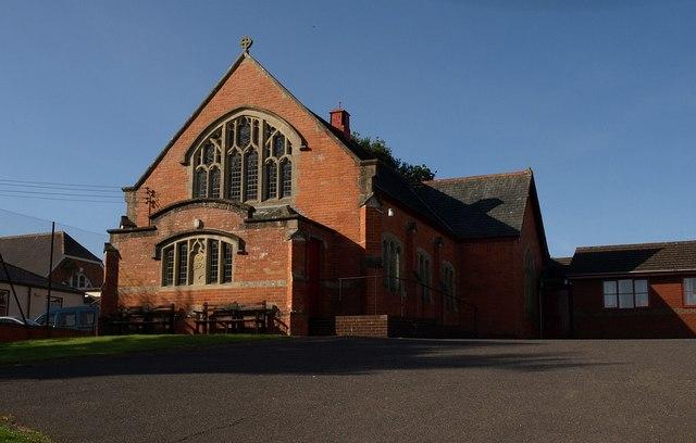 Methodist church, Tedburn St Mary