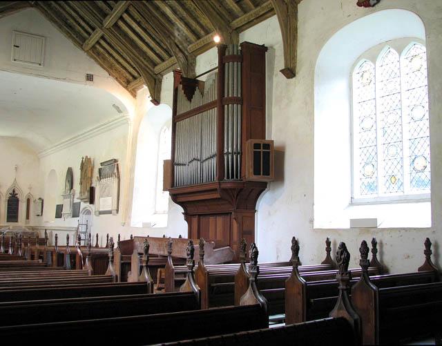 St Michael's church - the organ
